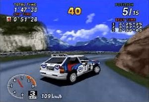 Sega Rally Sega Saturn
